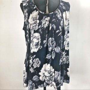 Charter club 2x sleeveless top blouse